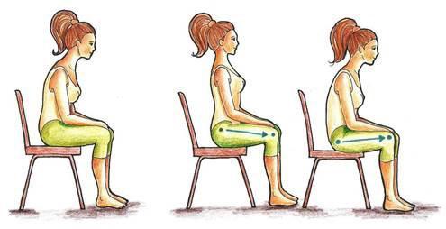 Esercizi Feldenkrais da seduti