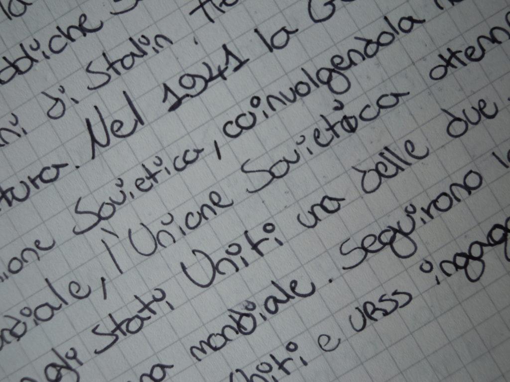ortografia e calligrafia